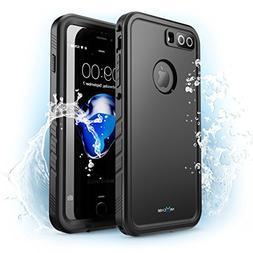iPhone 8 Plus Case, NexCase Waterproof Full-body Rugged Case