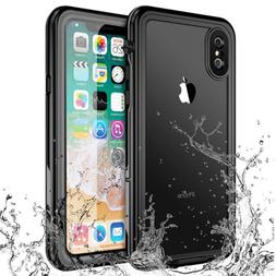 For iPhone 7 8 Plus Underwater Dirtproof Waterproof Clear Sh