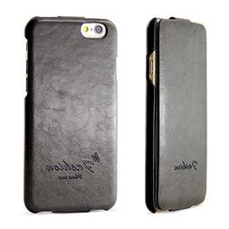 iPhone 6 6S Case, BELK  Series Flip Genuine Leather Case -
