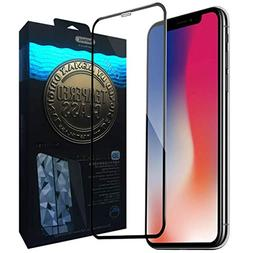 iPhone X Screen Protector, REMAX Full Coverage Tempered Glas