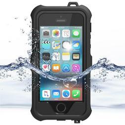 ZVE IPhone SE/5C Waterproof Case Shockproof Dustproof Snowpr