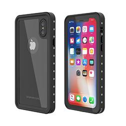iPhone X Waterproof Case, OUNNE Underwater Full Sealed Cover