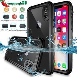 iPhone X 8 7 Plus XR XS 11 Pro Max Waterproof Case Underwate