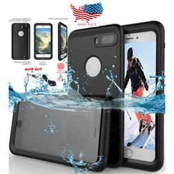 For iPhone X 8 Plus 7 6 6S Slim Waterproof Shockproof Heavy