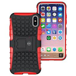 iPhone X Case, iPhone X Case by Cable and Case -  Tough Dual