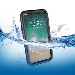 iPhone X Case, AICase Slim Waterproof Full-body Cover fr App