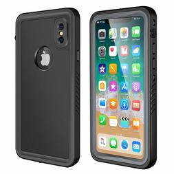 iPhone X Waterproof Case, Eonfine Full-body Rugged Protectiv