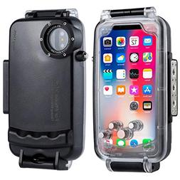 HAWEEL for iPhone X/XS Underwater Housing Professional  Divi