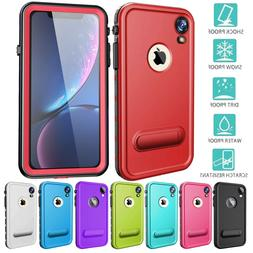For iPhone XR Case Waterproof Shock XS MAX Rugged with Built