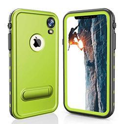 iPhone XR Waterproof Case, Full Body Heavy Duty Rugged Case