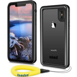 For iPhone Xs Max / iPhone Xs /iPhone X Waterproof IP68 Case