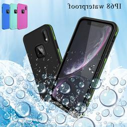 For iPhone 11 Pro Max Case IP69K Dropproof Shockproof Life W