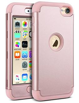 ULAK iPod Touch Case,iPod 6 Case, Heavy Duty Protection Shoc