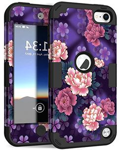 iPod 6 Case, iPod 5 Case, Hocase Drop Protection Shock Absor