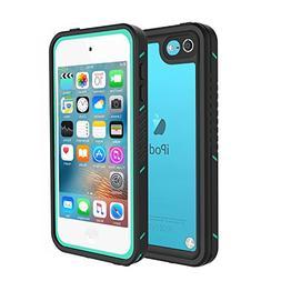 iPod Touch 5 & 6 Waterproof Case, Besinpo Sweatproof Snowpro