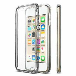 For iPod Touch 5th/6th/7th Gen Case Crystal CLEAR Shockproof