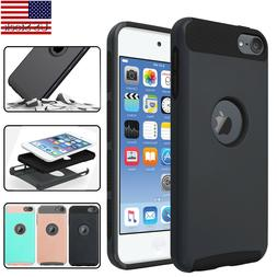 For iPod Touch 5th/ 6th/7th Gen Shockproof Impact Rugged Rub
