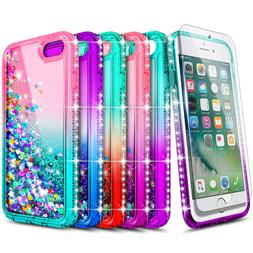 For iPod Touch 5th 6th 7th Gen Case Liquid Glitter Bling Cov
