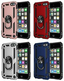 For iPod Touch 5th 6th & 7th Gen -Hard Hybrid Magnetic Ring