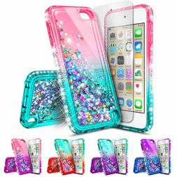 iPod Touch 5th 6th 7th Gen Case  Bling Cover + Screen Protec