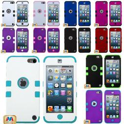 For iPod Touch 5th 6th 7th Gen - Hard&Soft Rubber Hybrid Arm