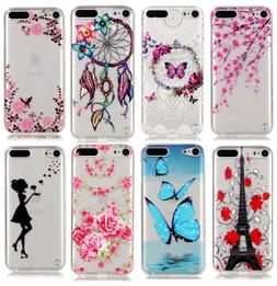 For iPod Touch 5th 6th & 7th Gen -TPU Gummy Rubber Transpare