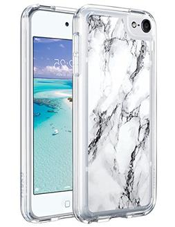 ULAK iPod Touch 6 Case,iPod 6 Case Marble,iPod Touch 6 Clear