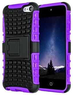 iPod Touch 6 Case,iPod Touch 5 Case, SLMY Heavy Duty Dual La