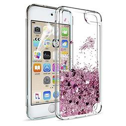 iPod Touch 6 Case, iPod Touch 5 Liquid Case with HD Screen P