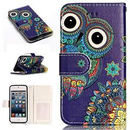 iPod Touch 6 Case,iPod Touch 5 Case,Touch 5 Wallet Case,Voan