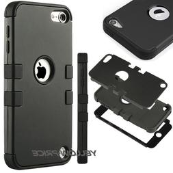 For iPod Touch 6th/5th Gen Hybrid Rubber Protective Denfende