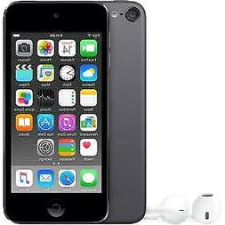APPLE IPOD TOUCH 6th GENERATION 32GB SPACE GRAY MP3 PLAYER M