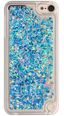 iPod touch 6th 5th Generation Case Quicksand Liquid Twinkle