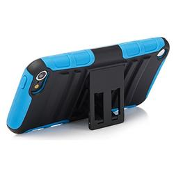 iPod Touch 6th Generation Case, Rugged Hybrid Dual Layer Pro
