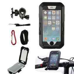 IPX8 Waterproof Bicycle Bike MTB Handlebar Phone Holder Moun