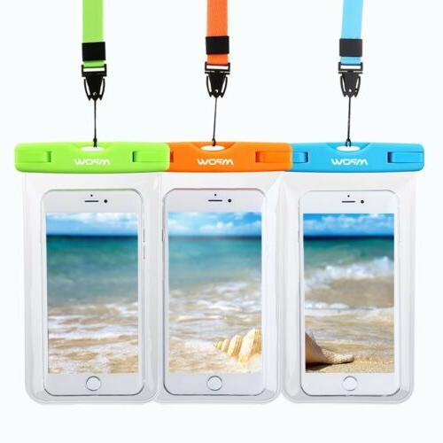 3 Pack Underwater Pack Cell Phone