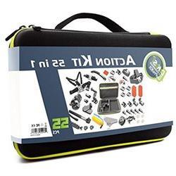 DeKaSi 55-In-1 Sport Accessory Kit for GoPro Hero4 Session H