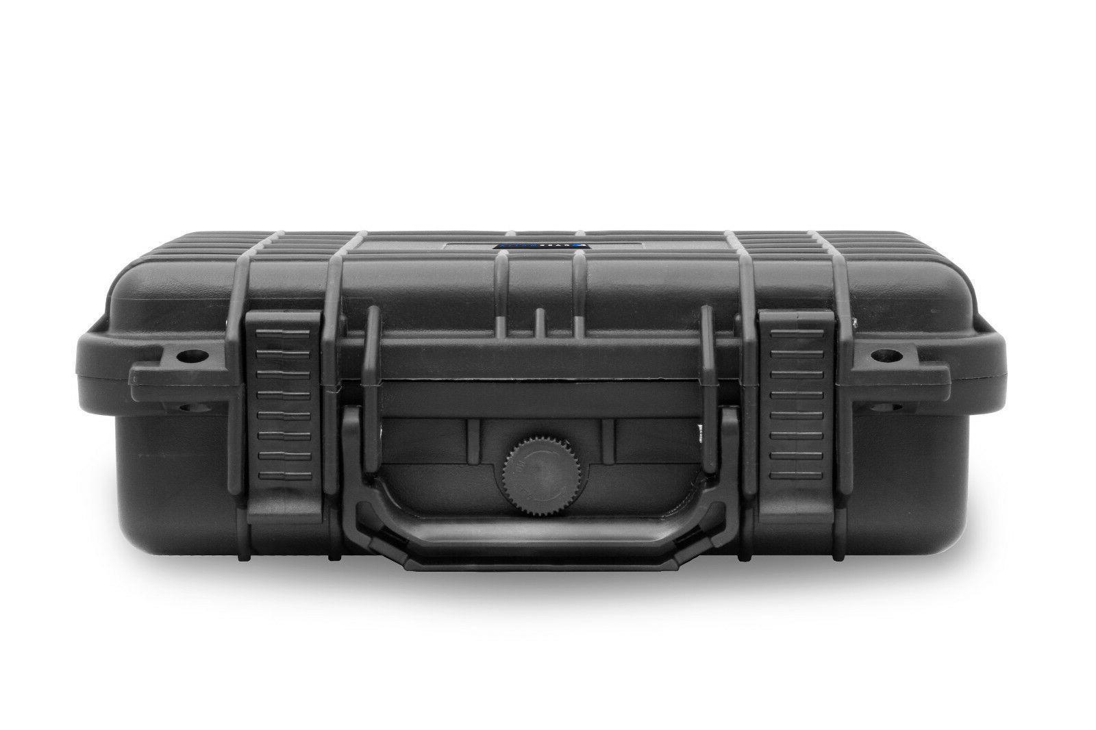 "12"" Waterproof Studio Case For Shure , or Rode Microphone"