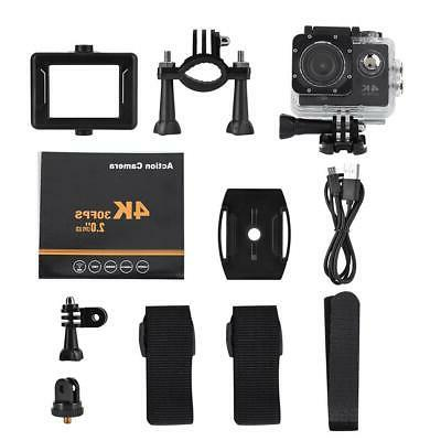 2.0'' Ultra HD Sport Action Camera Camcorder Case