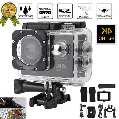 2.0'' LCD WiFi Ultra HD Camera Video Waterproof Case