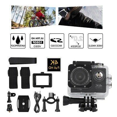 2.0'' WiFi 4K Ultra HD Camera Camcorder Case