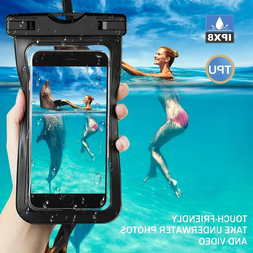 2 Pack Swimming Underwater Bag Pack Dry for smart Phone