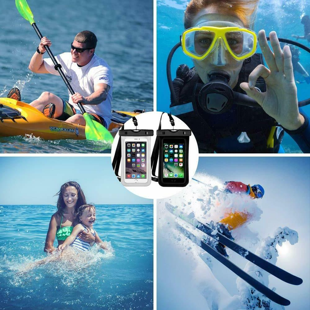 2 Pack Swimming Underwater Pouch Pack Dry Phone
