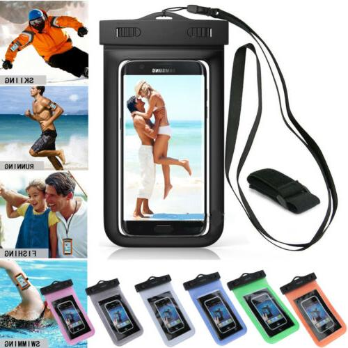2 Swimming Underwater Pouch Dry Case for Phone