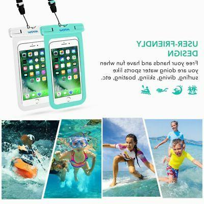 2 Bag Swimming Pouch Case Cover
