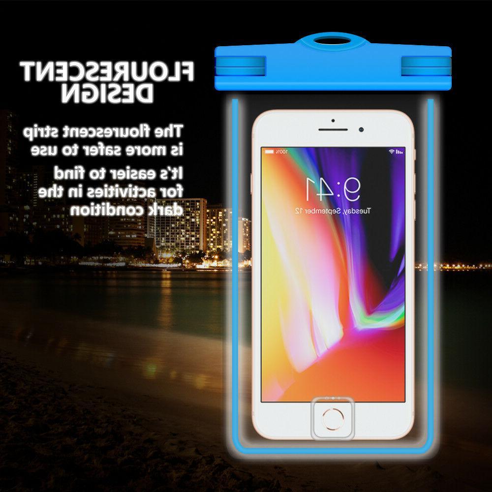 2 Universal Phone Bag Pouch - Blue