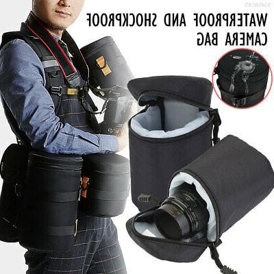 21E8 Waterproof SLR Camera Lens Case Hiking Travel