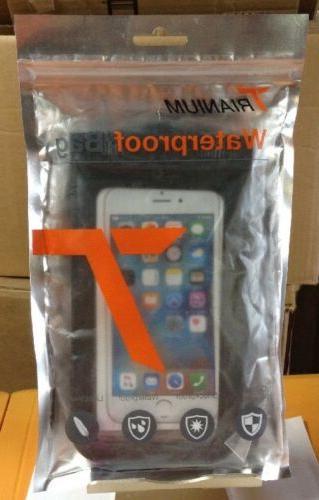 2pack universal waterproof case tethys cellphone dry