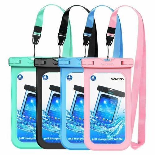Mpow Floating Underwater Waterproof Dry Bag Pouch Case For i