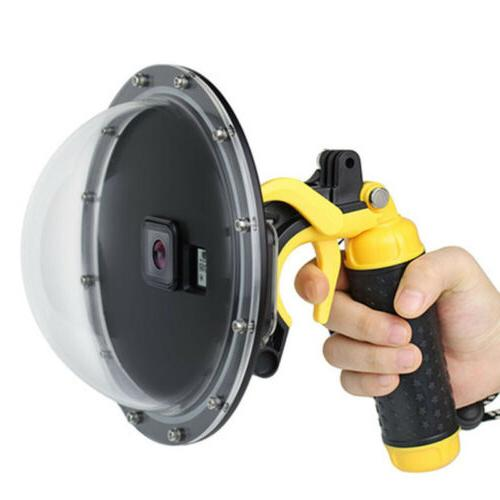 """7"""" Waterproof Dome Lens Diving Housing Case for 5/6/7"""